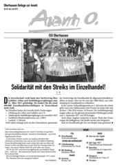 Oberhausener Beilage zur Avanti, Juni/Juli 2017.