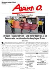 Oberhausener Beilage zur Avanti, März 2018.