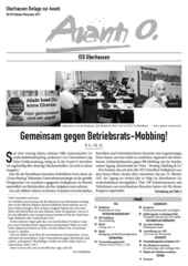 Oberhausener Beilage zur Avanti, Oktober/November 2017.