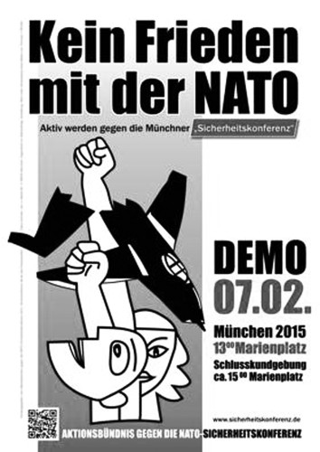 Stoppt den Konfrontationkurs und die neue NATO-Aufrüstung!