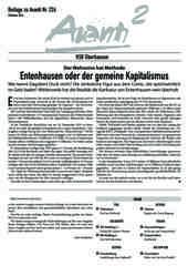 Oberhausener Beilage zur Avanti 226, Oktober 2014