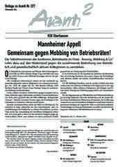 Oberhausener Beilage zur Avanti 227, November 2014