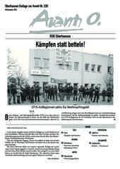 Oberhausener Beilage zur Avanti 228, Dezember 2014