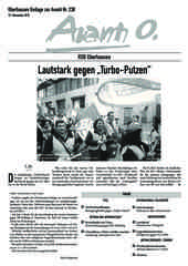 Oberhausener Beilage zur Avanti 238, November 2015
