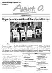 Oberhausener Beilage zur Avanti 239, Dezember 2015