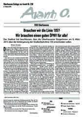 Oberhausener Beilage zur Avanti 230, Februar 2015