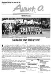 Oberhausener Beilage zur Avanti 244, Mai 2016