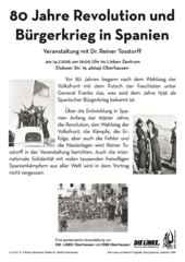 80 Jahre Revolution und Bürgerkrieg in Spanien
