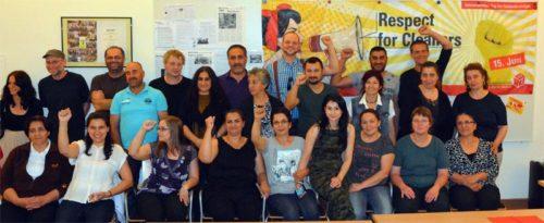 Kolleginnen von MCS und UnterstützerInnen. mcs-malteser, Foto: Foto: Fatih Cimen