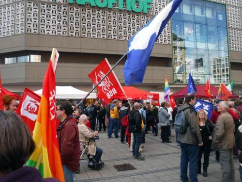 demo-essen-3-10-2016 gegen NATO-Kriegsrat. Foto: AvantiO.