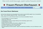 Frauen-Plenum Oberhausen