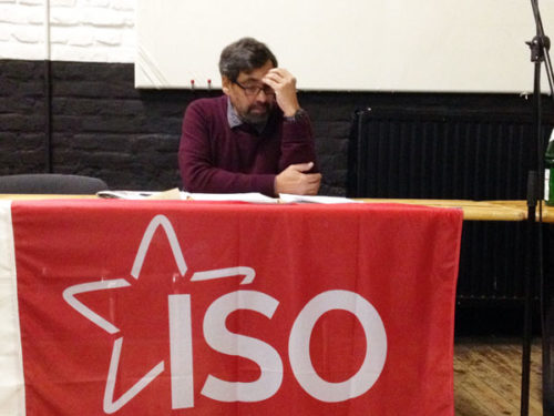 Manuel Kellner bei der Veranstaltung am 2.11.2017 in Oberhausen. Foto: Avanti O.