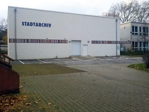 Stadtarchiv Oberhausen. Foto AvantiO.