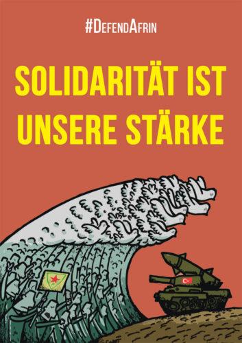 Defend Afrin #DefendAfrin - Solidarität ist unsere Stärke