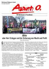 Oberhausener Beilage zur Avanti, Januar/Februar 2018.