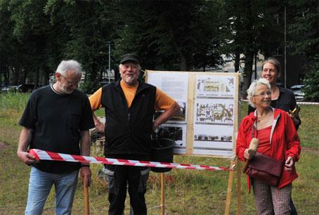 Nachbarschaftsfest des WSO e.V., John-Lennon-Platz, 28.06.17. Foto: Andrea-Cora Walther