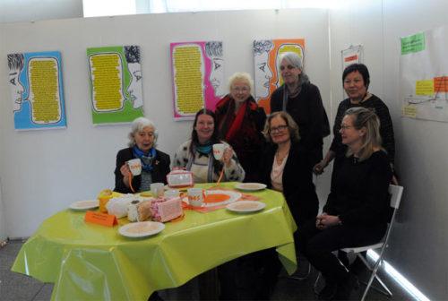 Ausstellungseröffnung am 06.03.18, Mitglieder des Frauen-Plenums. Foto: ACW.