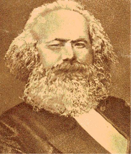 Karl Marx – verfremdet von Bernd Köhler.