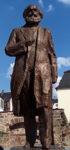 Das von der Volksrepublik China gespendete Marx-Denkmal in Trier. Foto: Avanti O.