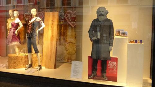 Pappkamerad Marx in Trier, 7. Juli 2018 (Foto: Avanti²)