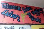 Graffiti – gefunden nicht in Oberhausen, sondern in Chemnitz. Foto: Avanti².
