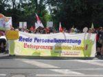 Protest bei der Gesundheitsminister*innen-Konferenz in Leipzig, 5. Juni 2019. Foto: Avanti O.