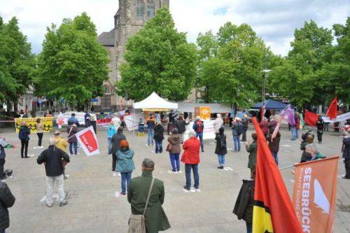 1. Mai 2020 in Oberhausen. Foto: Andrea-Cora Walther.